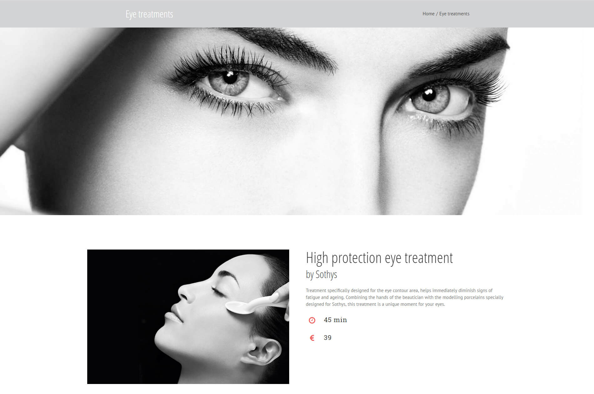 Web design anweb Petra Elpida Cosmetic & Massage Studio