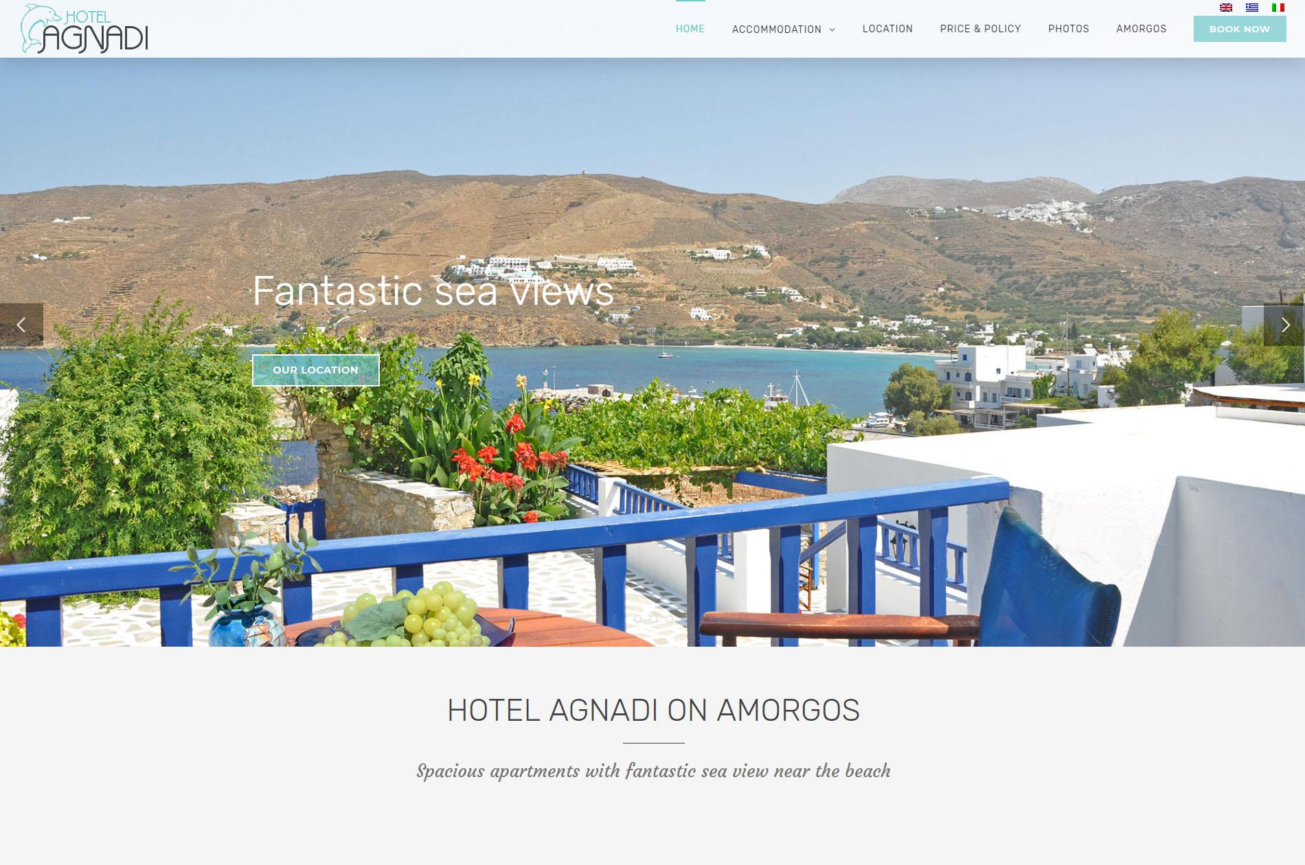 Hotel Agnadi Amorgos Cyclades