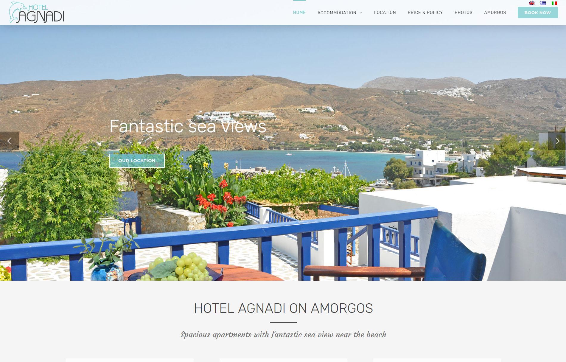 Hotell Agnadi Amorgos