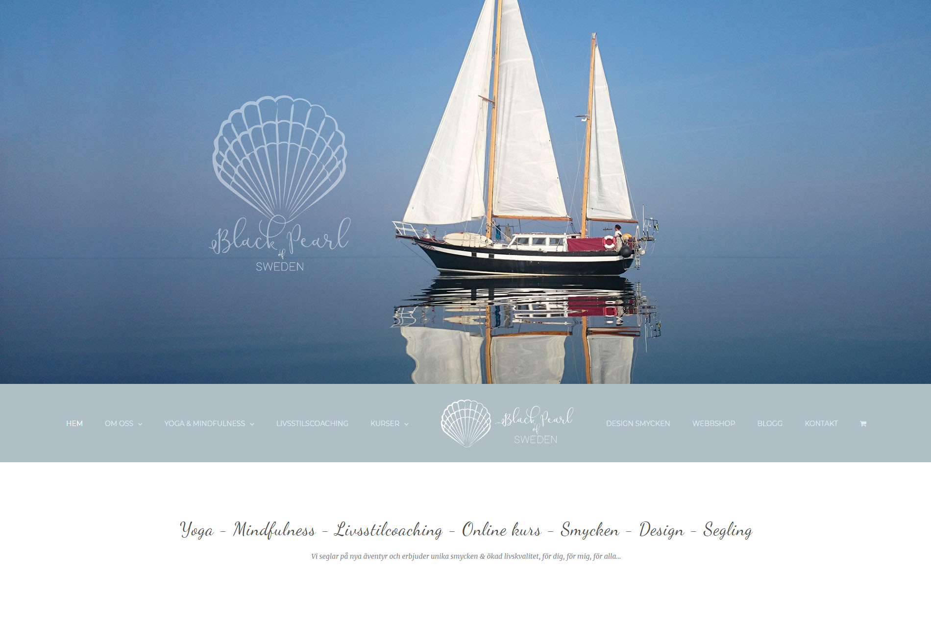 Web Design Black Pearl of Sweden