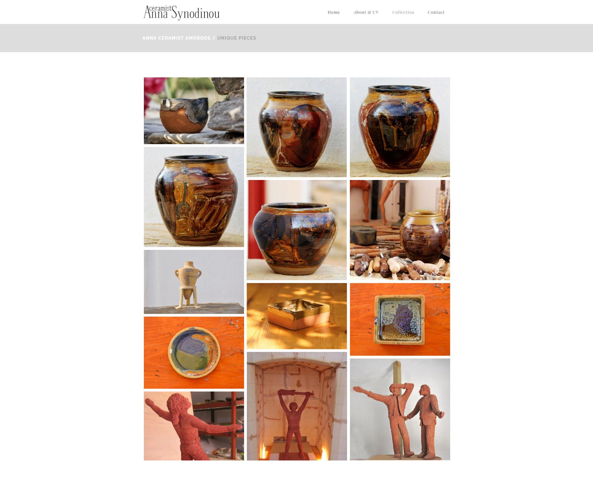 Hemsida Anna Keramiker