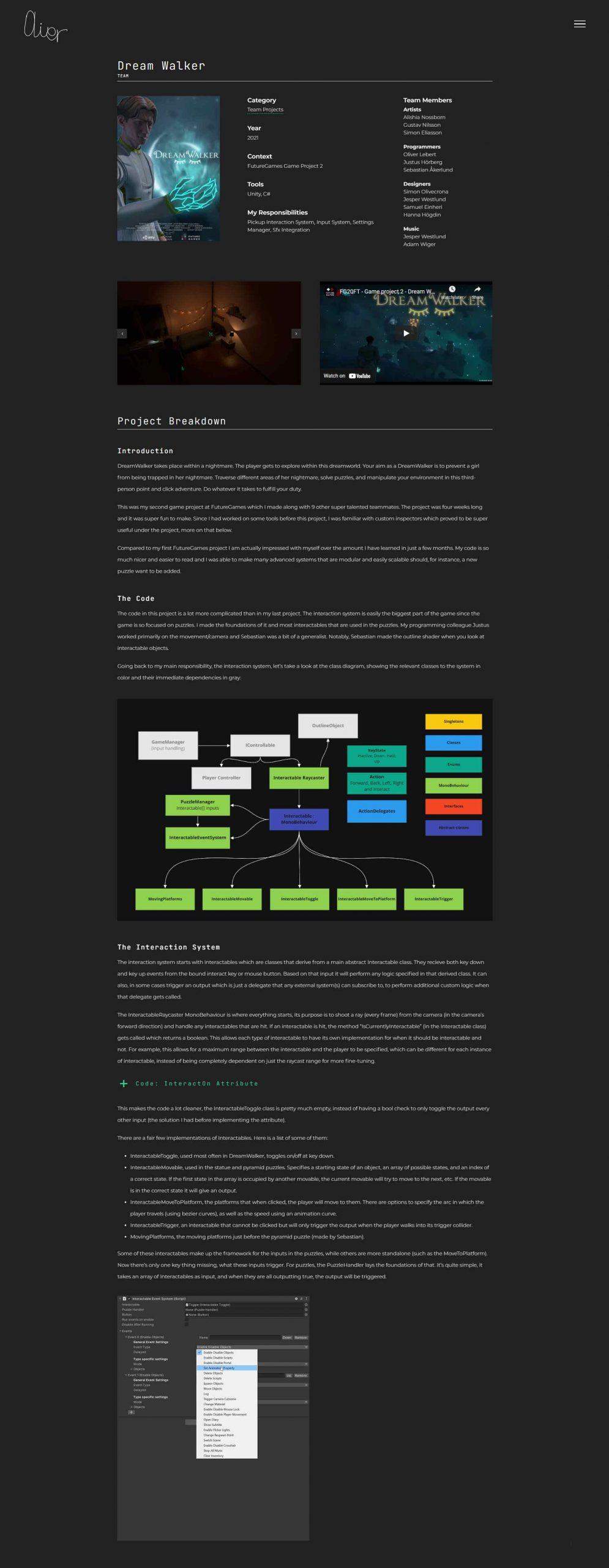 anweb web design Oliver Lebert Game Programmer