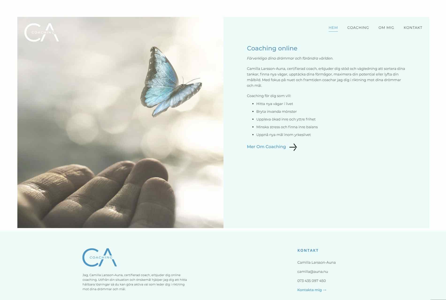 anweb design Auna Coaching