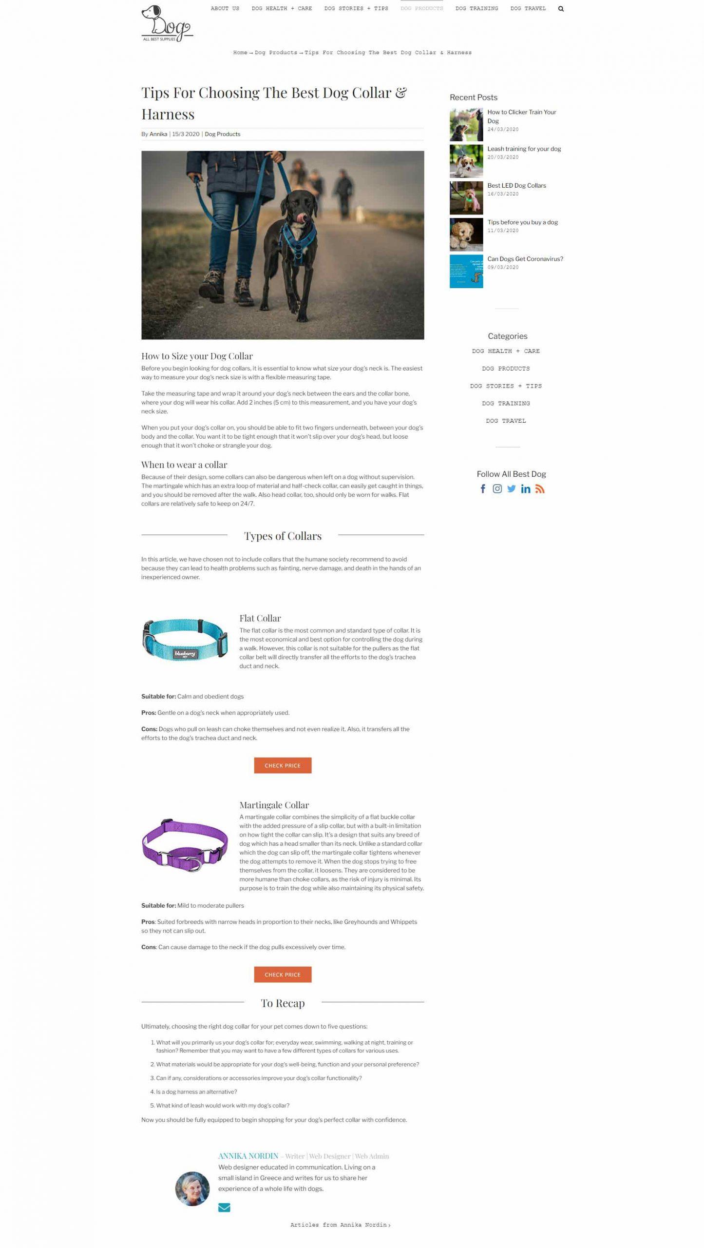 All Best Dog Supplies Webbdesign anweb