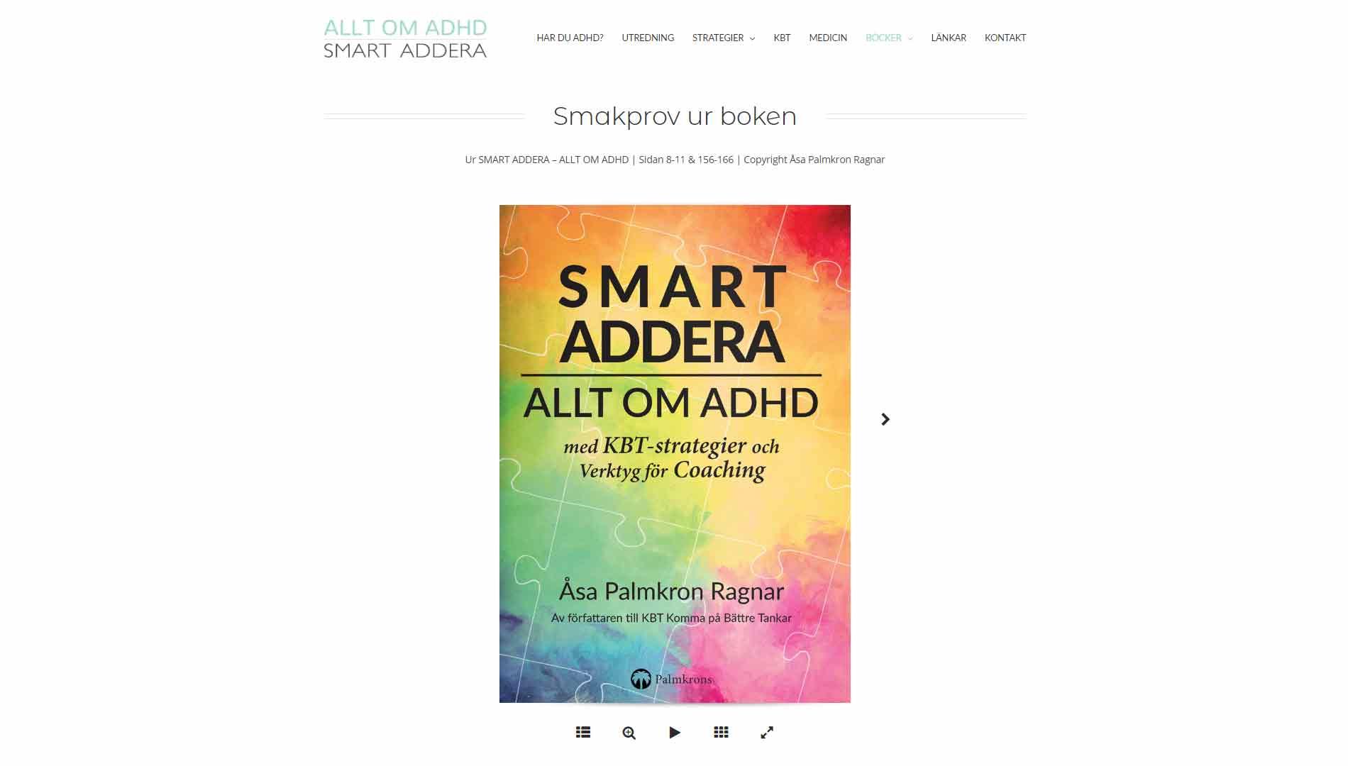 Anweb Design Book Allt om ADHD