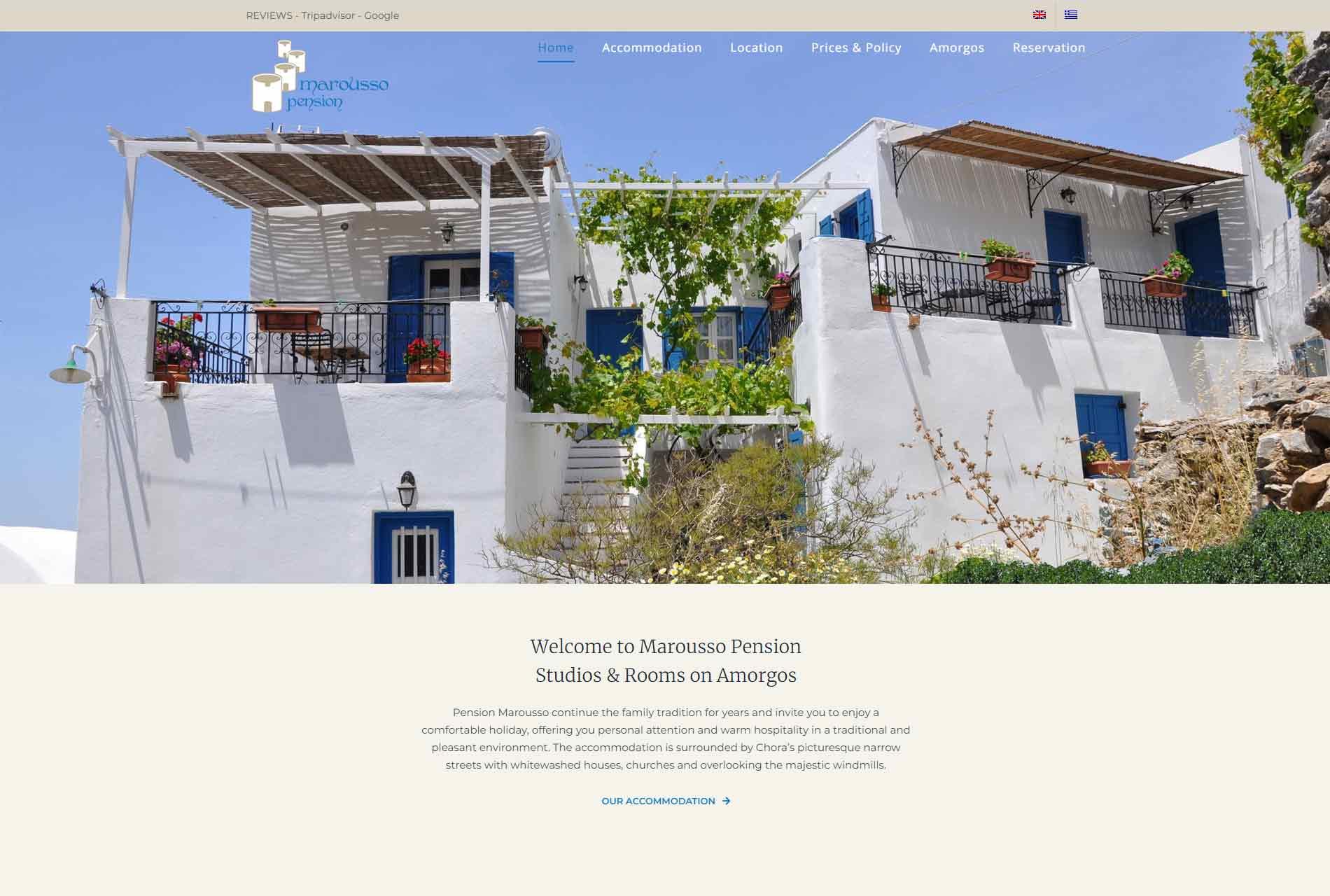 anweb design Marousso Pension
